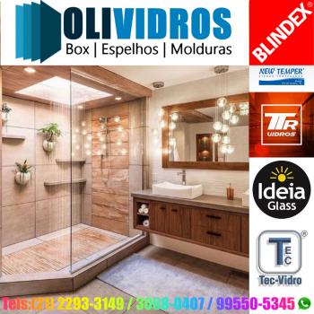 BOX PARA BANHEIROS BLINDEX