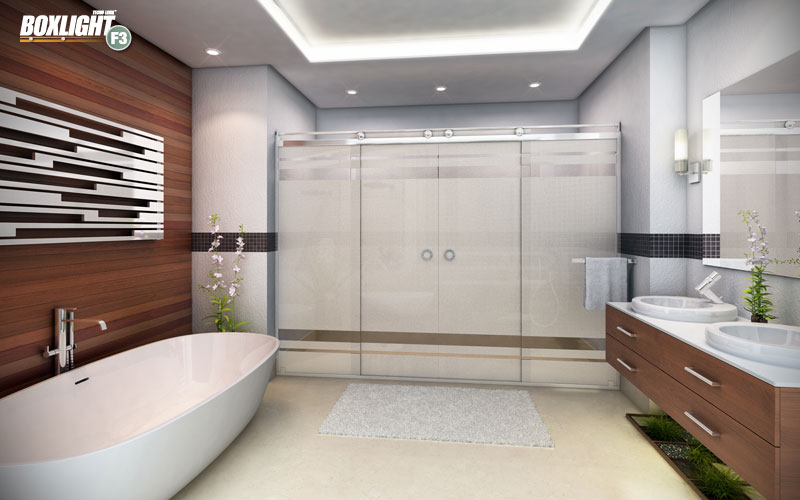 Box Light para banheiro✓ Box de banheiro Light✓
